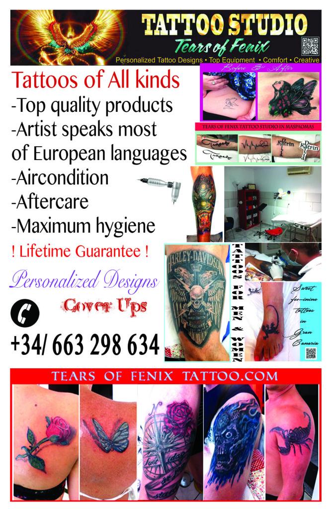 Tattoo Gran Canaria