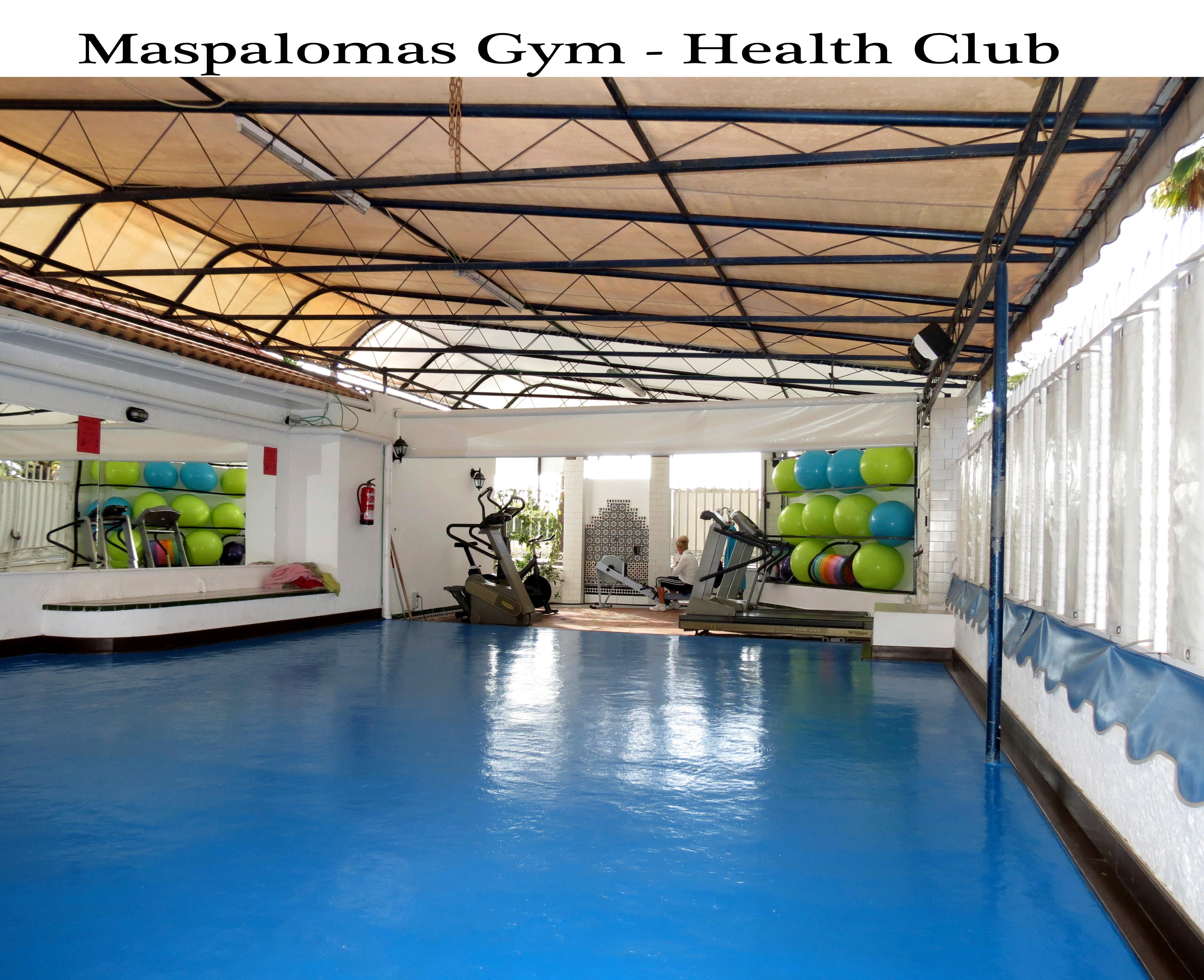 maspalomas gym gran canaria training