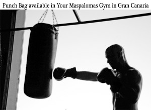 punch boxing bag maspalomas gym